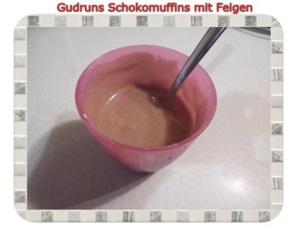Muffins: Schokomuffins mit Feigen - Rezept - Bild Nr. 18