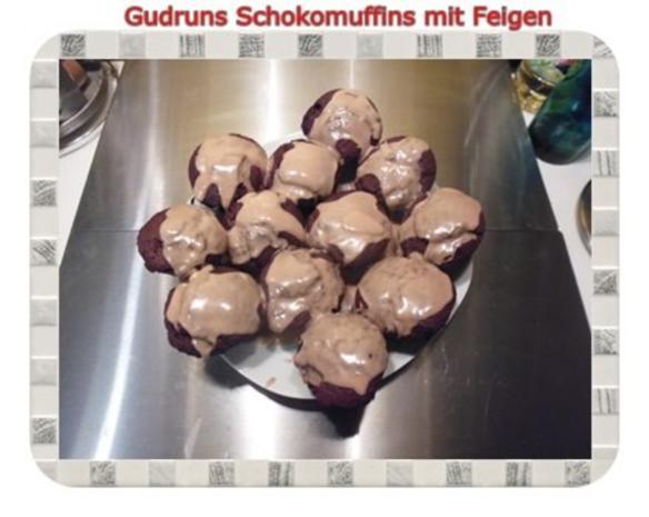 Muffins: Schokomuffins mit Feigen - Rezept - Bild Nr. 19