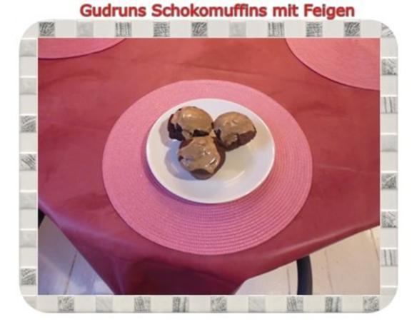 Muffins: Schokomuffins mit Feigen - Rezept - Bild Nr. 20