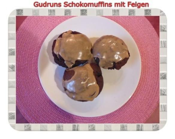 Muffins: Schokomuffins mit Feigen - Rezept - Bild Nr. 21
