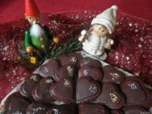 Marzipan - Schokoladen - Herzen ... - Rezept