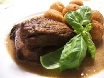 "Fleisch: Rinderbrust ""Kanadischer Beduinengrieche"" - Rezept"
