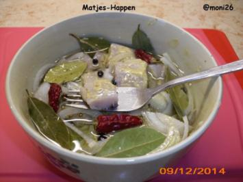 Matjes-Happen in Öl - Rezept