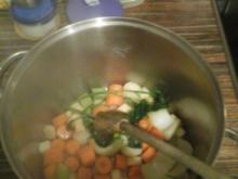 Gemüse / Geflügel Brühe - Rezept