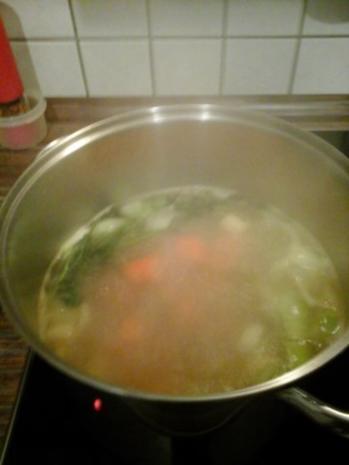 Gemüse / Geflügel Brühe - Rezept - Bild Nr. 2