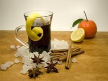 Alkoholfreier Glühwein, Pralinen- und Sauerrahm-Eis - Rezept