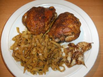 Rezept: Fleisch: Spanisches Knoblauchhuhn; Pollo al ajillo