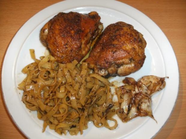 Fleisch: Spanisches Knoblauchhuhn; Pollo al ajillo - Rezept