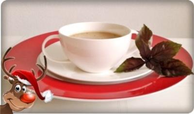 Champignons Cremesuppe mit Burgunder verfeinert…für  den 4. Advent - Rezept