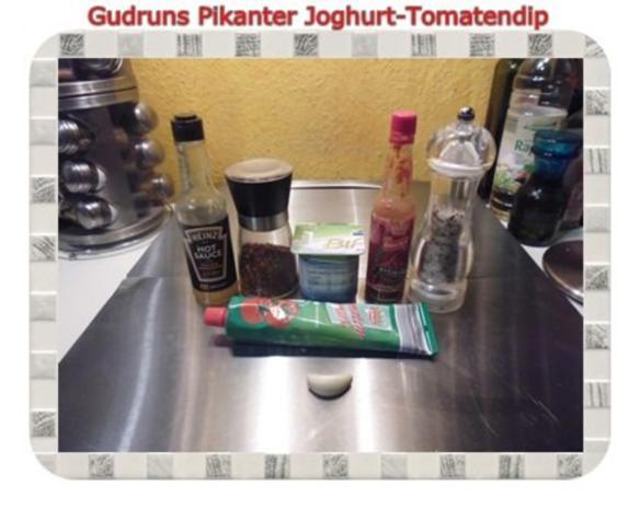 Dip: Pikanter Joghurtdip - Rezept - Bild Nr. 2
