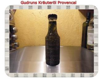 Öl: Kräuteröl provencal - Rezept