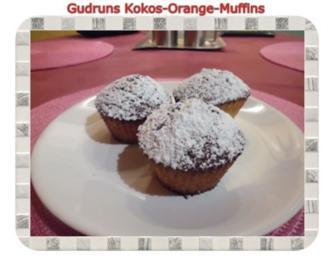 Muffins: Kokos-Orange-Muffins - Rezept