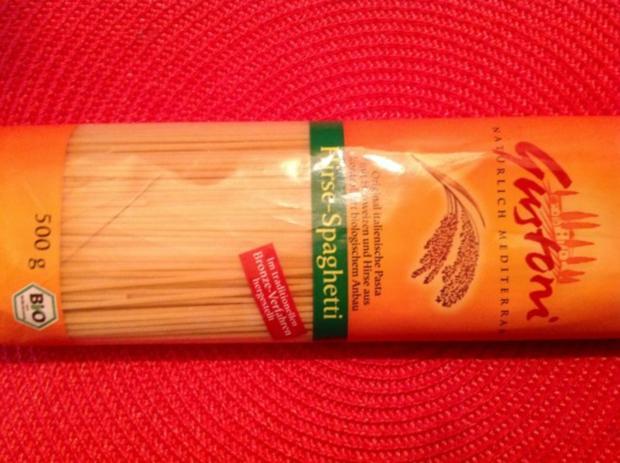 Spaghetti mit Trüffel, halbgetrockneten Kirschtomaten und Orangen-Sahnesoße - Rezept - Bild Nr. 6