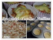 BiNe` S BRATAPFEL - VANILLE - MUFFINS - Rezept