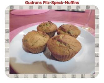 Muffins: Pilz-Speck-Muffins - Rezept