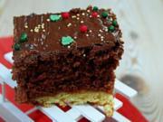 Blechkuchen: Weihnachtliche Gewürzschnitten - Rezept