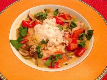 Rezept: Asiatisches Hähnchen Curry