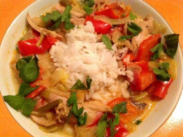 Asiatisches Hähnchen Curry - Rezept - Bild Nr. 2