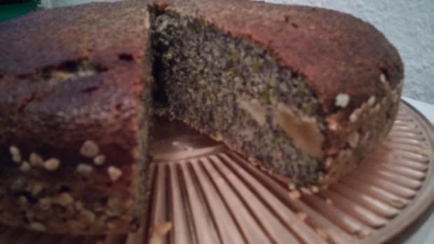 Mohn-Käsekuchen ohne Boden - Rezept - Bild Nr. 2