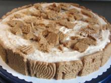 Spekulatius-Frischkäse-Torte - Rezept