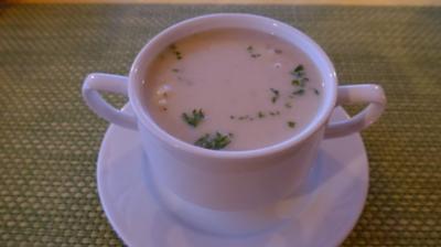 Veggi´s - Heiliges Abendmahl : Vorsuppe : Kokos - Blumenkohlsuppe - Rezept
