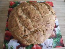 Brot & Brötchen : Grieß - Dinkelvollkorn - Brot - Rezept