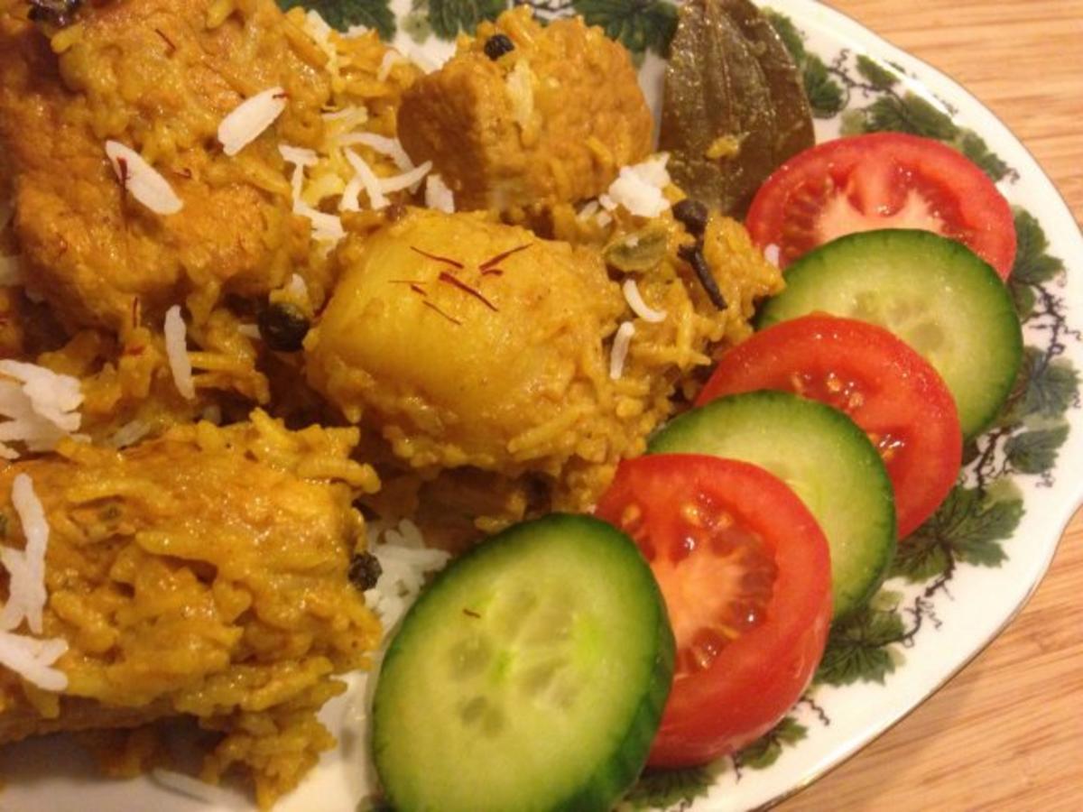 Hähnchen Biryani (Chicken Biryani) - Rezept Durch Hobbycook