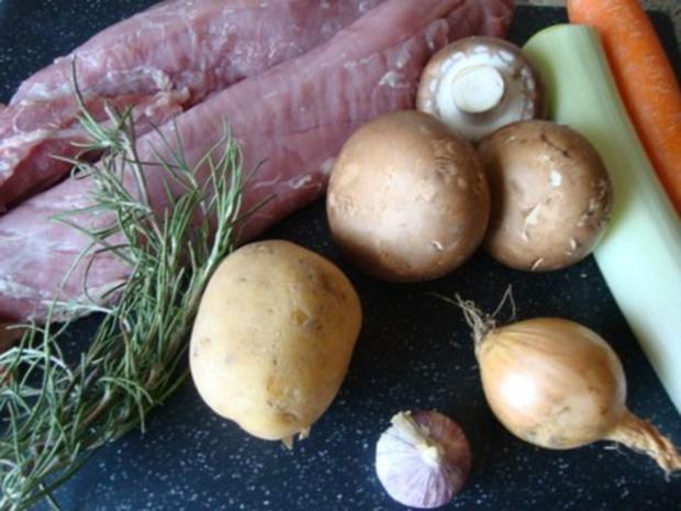 """pikanter """"Königskuchen"""" in Portwein-Sahnesößchen - Rezept - Bild Nr. 2"""