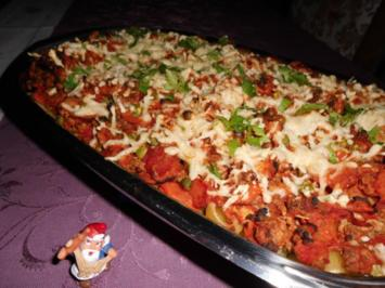 Gemüse-Bolognese-Auflauf>> - Rezept