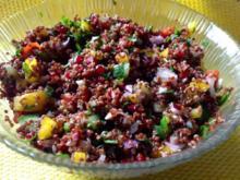 Roter Quinoa Salat - Rezept