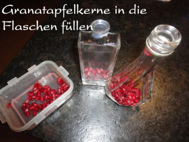 Granatapfel - Vanille - Aperol Likör - Rezept - Bild Nr. 3