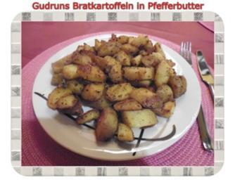 Kartoffeln: Bratkartoffeln in Pfefferbutter - Rezept