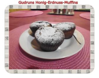 Muffins: Honig-Erdnuss-Muffins - Rezept