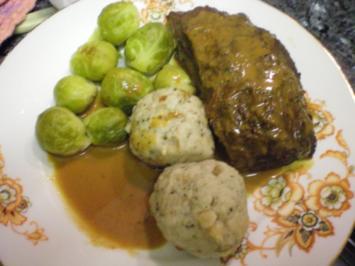 Rezept: Fleisch: Schmorbraten vom Gallowayrind