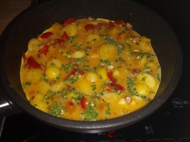 Kartoffel-Eier-Omelett - Rezept - Bild Nr. 7
