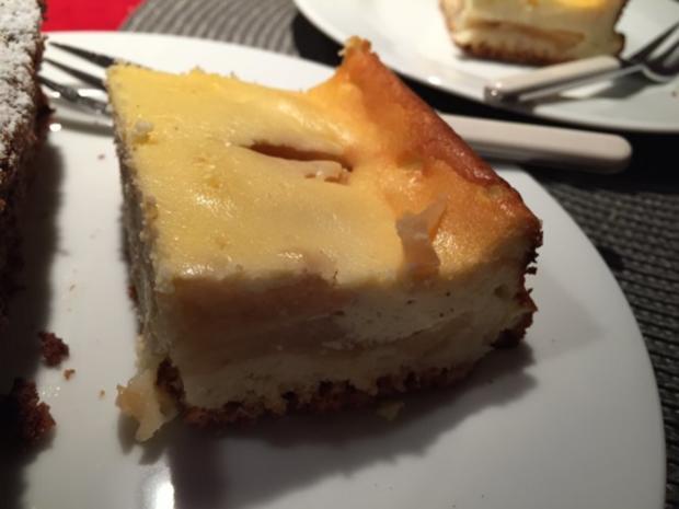 Apfel Quark Blechkuchen - Rezept