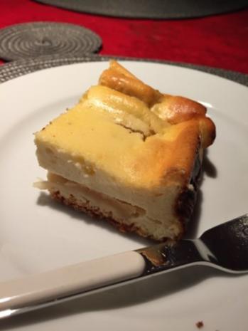 Apfel Quark Blechkuchen - Rezept - Bild Nr. 4