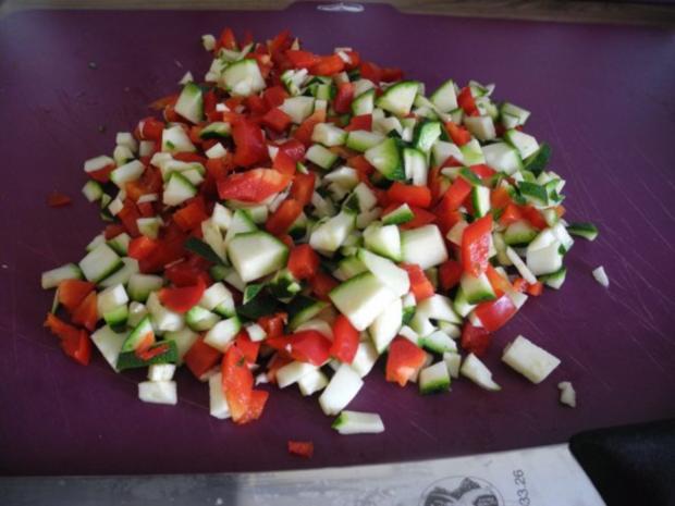 Gemüse - Seitan - Braten zum Silvesterabend - Rezept - Bild Nr. 3