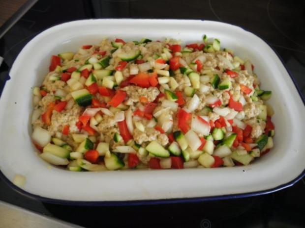 Gemüse - Seitan - Braten zum Silvesterabend - Rezept - Bild Nr. 2