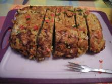 Gemüse - Seitan - Braten zum Silvesterabend - Rezept