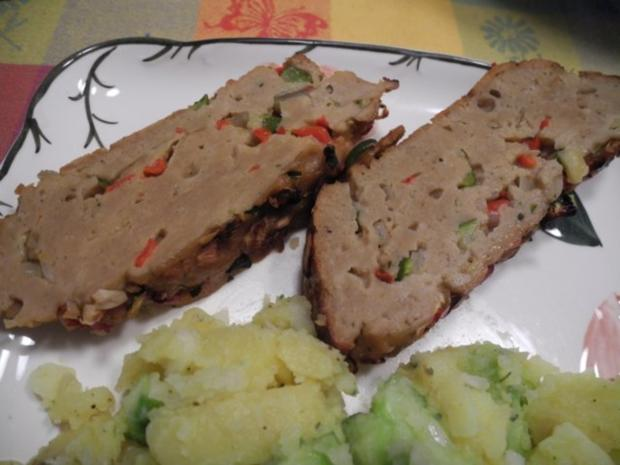 Gemüse - Seitan - Braten zum Silvesterabend - Rezept - Bild Nr. 8