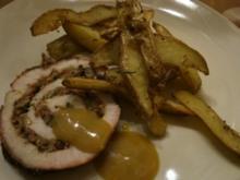 Zarter Schweinerollbraten vom Grill oder Ofen - Rezept