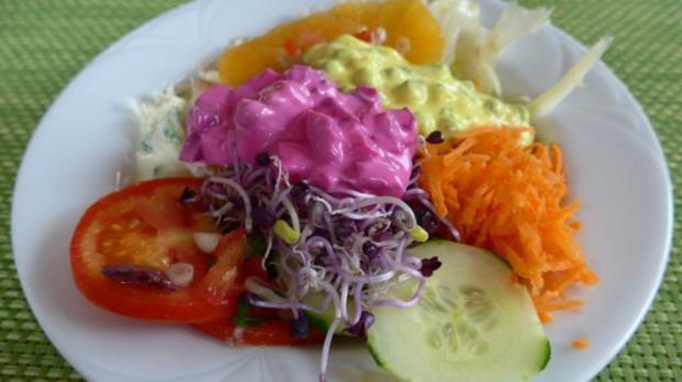 Salat : Bunter Salat-Teller....der Nächste - Rezept