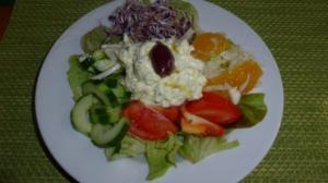 Salat : Bunter Salat-Teller - Rezept