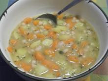 Weiße Bohnen - Suppe - Rezept