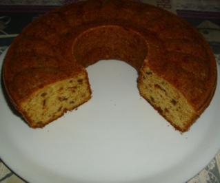 Lebkuchen Kranzkuchen - Rezept