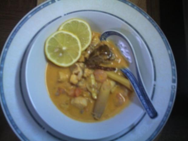 Fischsuppe mit Coco-Milch - Rezept - Bild Nr. 3