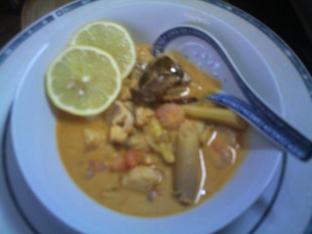 Fischsuppe mit Coco-Milch - Rezept - Bild Nr. 4