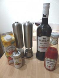 Feine Sauce / Soße für Hänchenbrustfilet - Rezept