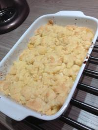 Apple Crumble - Rezept